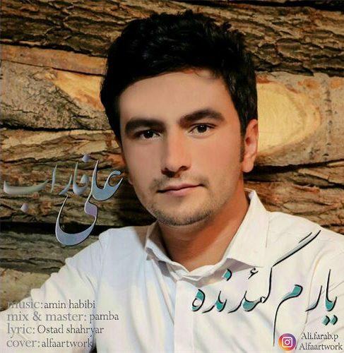 دانلود آهنگ جدید علی فاراب به نام یارم گئدنده