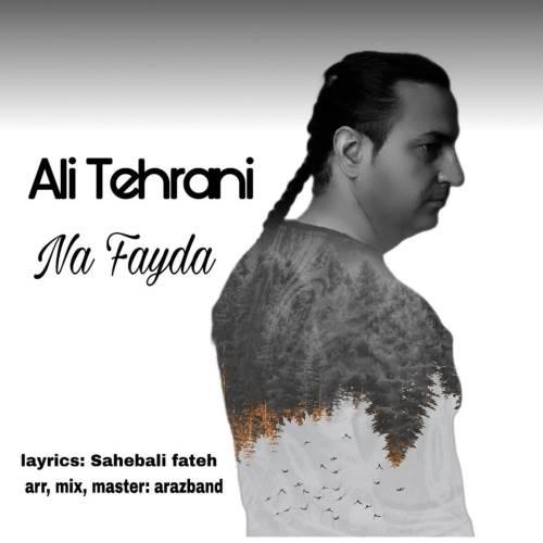 دانلود آهنگ جدید علی تهرانی به نام نه فایدا