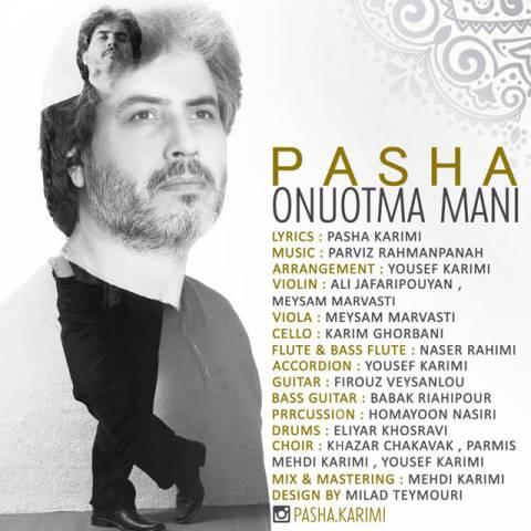 Pasha - Onutma Mani