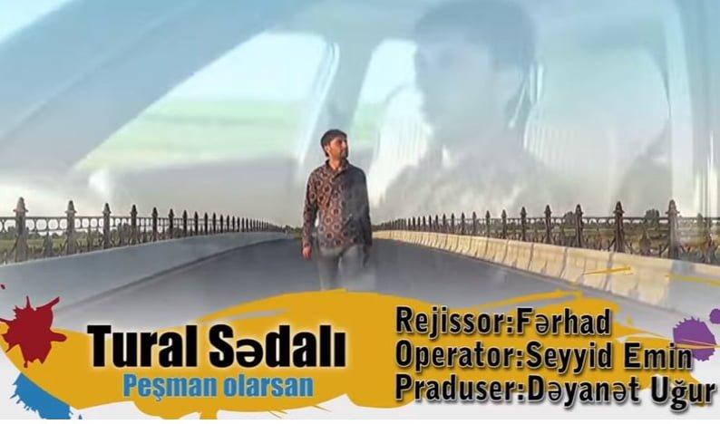 دانلود آهنگ ترکی تورال صدالی به نام پشمان اولارسان