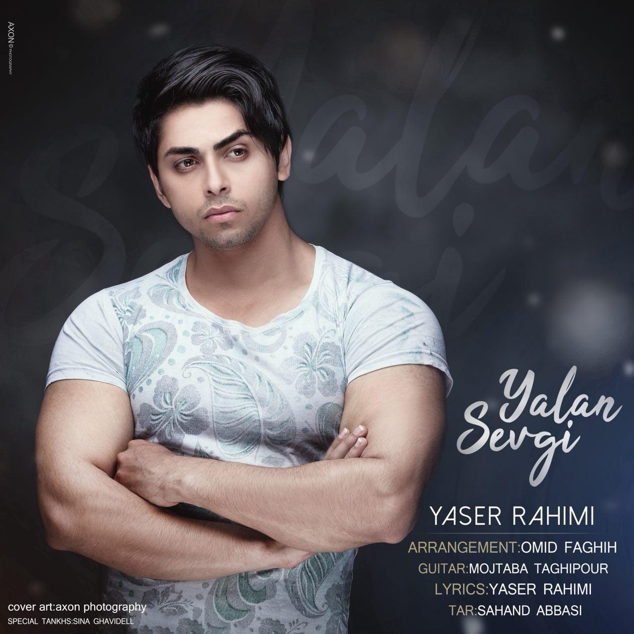 دانلود آهنگ جدید یاسر رحیمی به نام یالان سوگی